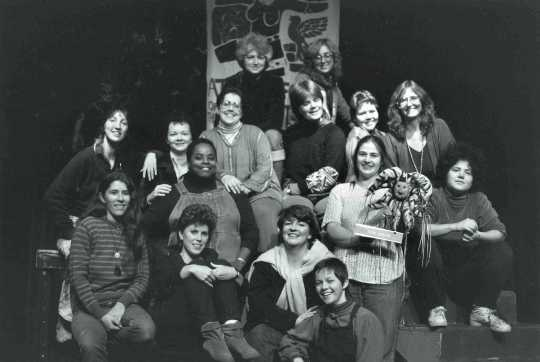 At the Foot of the Mountain Theater company, 1983.