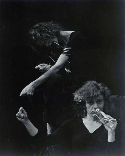 Performers in Junkie!, 1981.