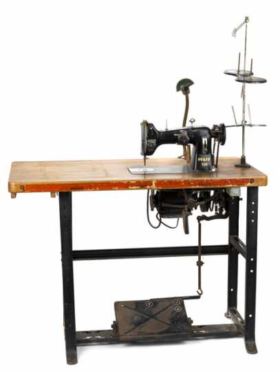 Sewing machine used by Nellie Stone Johnson
