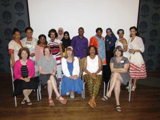 Nursing assistants' class graduation