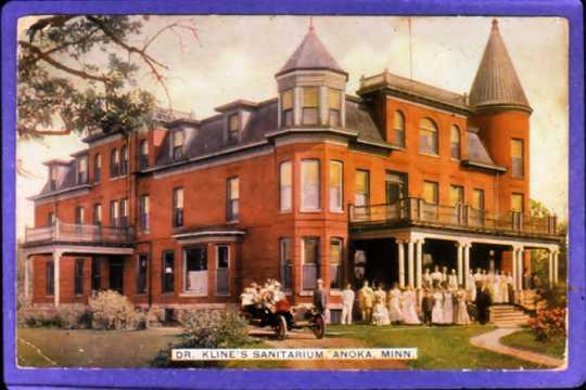 Kline Sanatorium postcard