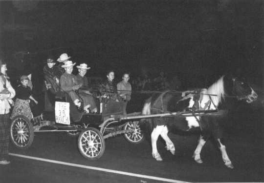 Anoka Halloween Celebration parade, 1953