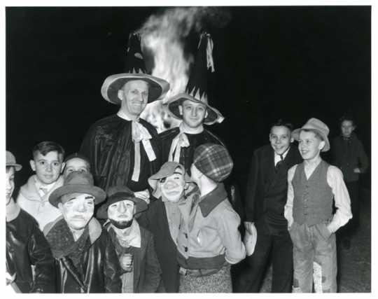 Anoka Halloween Celebration, 1936