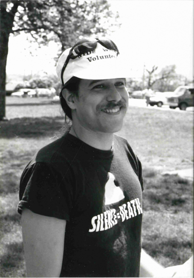 Minnesota AIDS Project volunteer Carlton Hogan