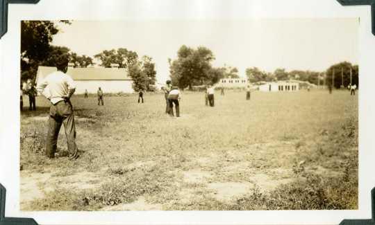 CCC-ID softball game