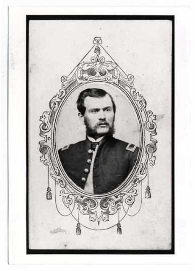 William D. Hale, Sergeant Major, Third Minnesota Infantry.