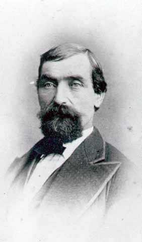 Samuel Bloomer, Color Sergeant, First Minnesota Infantry, Company B.