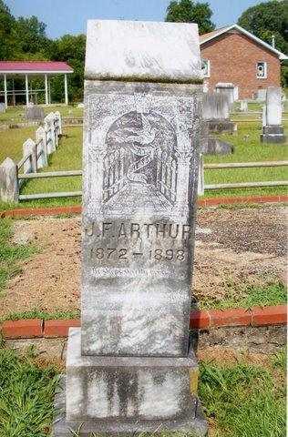 Felix Arthur's gravestone