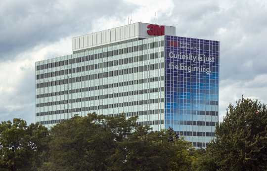 3M's Maplewood headquarters in 2018. Photograph by Wikimedia Commons user Acroterion.