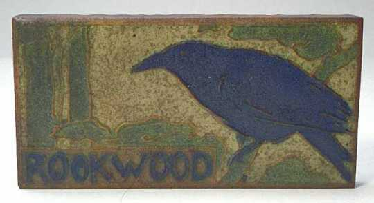 Rookwood counter/advertising sign