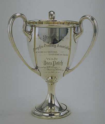 Dan Patch loving cup from Memphis