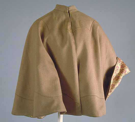 Woman's bicycle cape