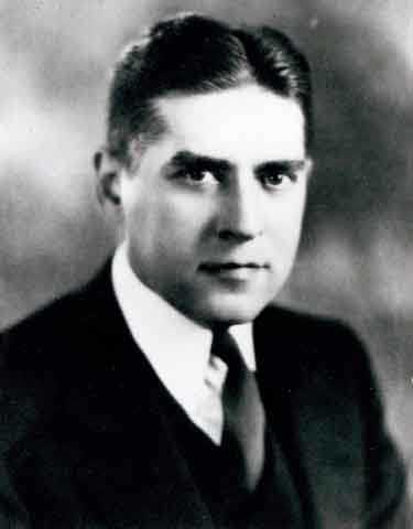 Black and white portrait of Albert I. Gordon, c.1930, Rabbi of Adath Jeshurun Congregation in Minneapolis 1930-1946.