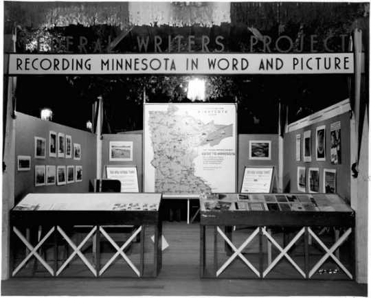 """Federal Writers Project exhibit: """"Recording Minnesota in Word and Picture"""""""