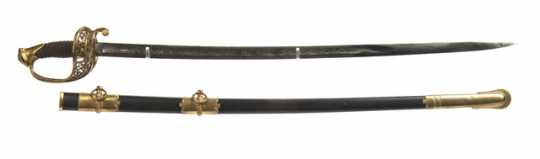 1st Minnesota officer's scabbard