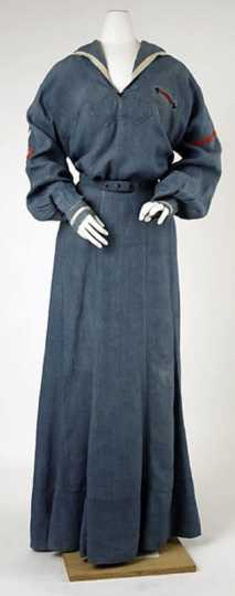 Color image of an informal uniform for Graham Hall students.