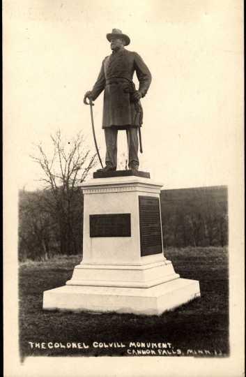 Statue of Col. William Colvill