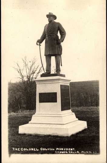 Statue of Col. William Colvill