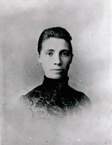 Augusta Burrow Marty, second wife of Adam Marty of Stillwater.