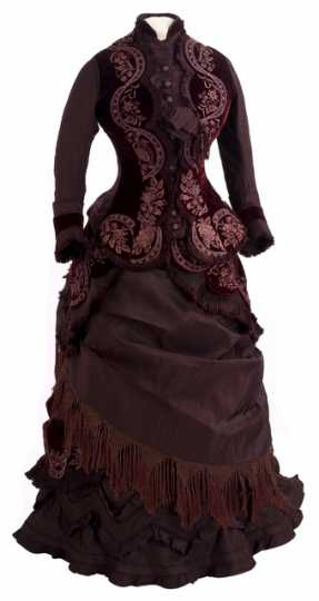 Reception gown worn by Mary LeDuc