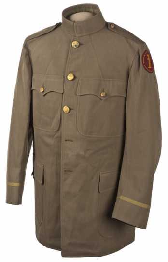 Color image of a Minnesota Home Guard sack coat.