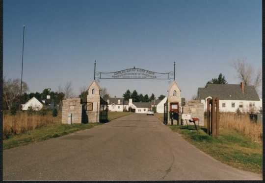 Entrance to the Carlos Avery Game Farm