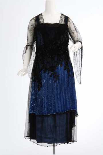 Net and Satin Dress