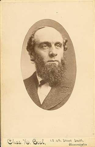 Black and white portrait of Judge Charles E. Vanderburgh.