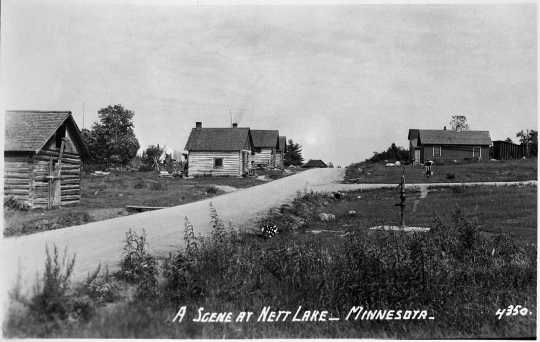 Nett Lake Reservation of Ojibwe, ca. 1920.