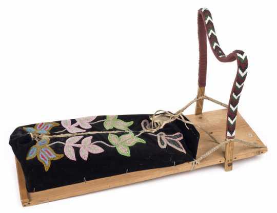 Ojibwe cradle board