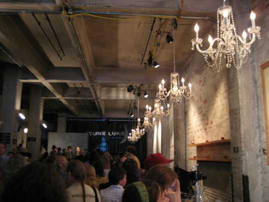 Theatre de la Jeune Lune lobby