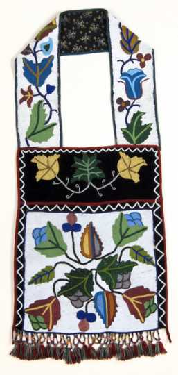 Ojibwe bandolier bag made c.1900.