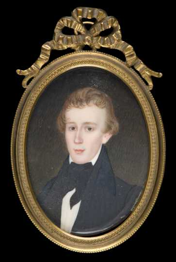 Henry M. Rice as a young man