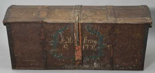 Swedish immigrant's trunk