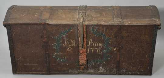 Swedish immigrant's trunk