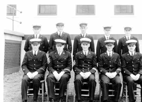 Coast Guard Crew, 1935