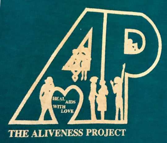 Aliveness Project t-shirt logo