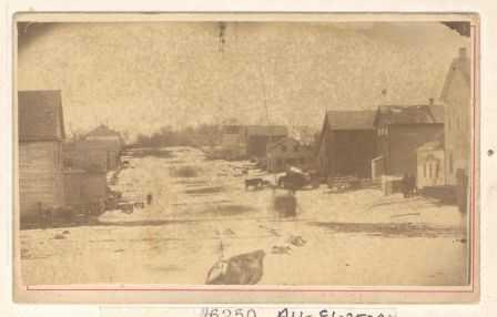 Waconia Street Scene, 1868.