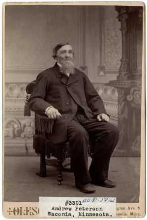 portrait photograph of Peterson