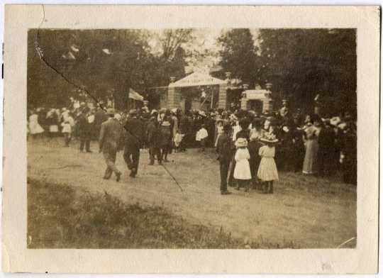 Carver County Fair Entrance, 1913