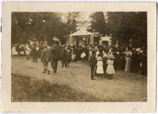 Carver County Fair Entrance, 1913