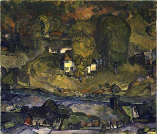 Painting of Connemara Patch
