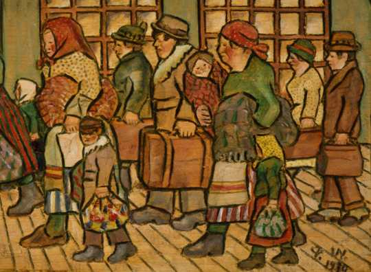 """""""Immigrants"""" by Peter Wedin"""