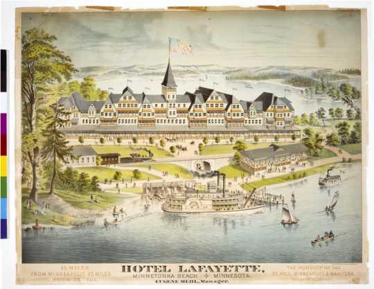Hotel Lafayette, Minnetonka Beach