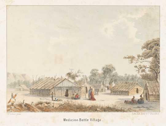 Wakan Ozanzan's village