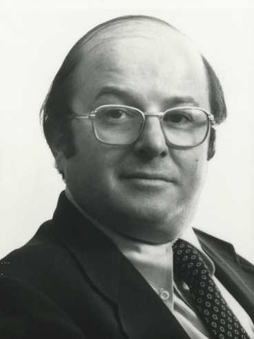 Black and white photograph of Allan Henry Spear, ca. 1980.