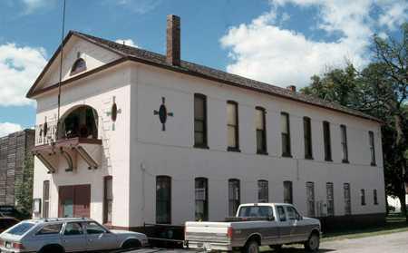 Color image of Ada Village Hall, c.1998.