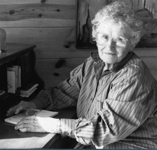 Photograph of Alice Tripp