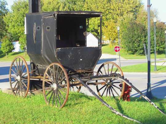 Harmony Amish Buggy