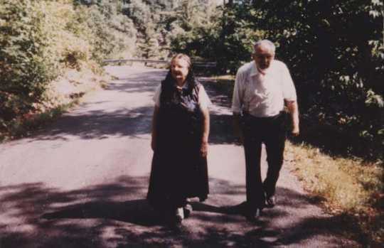 Dora Decker and Amos Decker Sr.